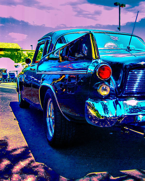 Classic Car Poster featuring the photograph 1960 Studebaker Hawk by Daniel Enwright