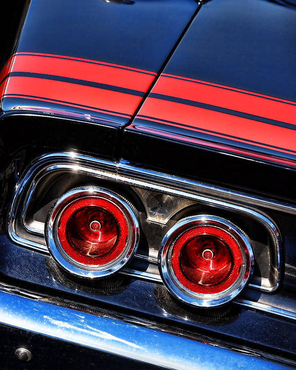Dodge Charger Tail Lights >> 1968 Dodge Charger R T Tail Lights Poster By Gordon Dean Ii