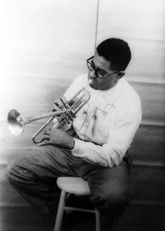 1955 Poster featuring the photograph Dizzy Gillespie (1917-1993) by Granger