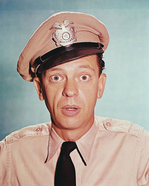 The Andy Griffith Show Poster featuring the photograph Don Knotts In The Andy Griffith Show by Silver Screen