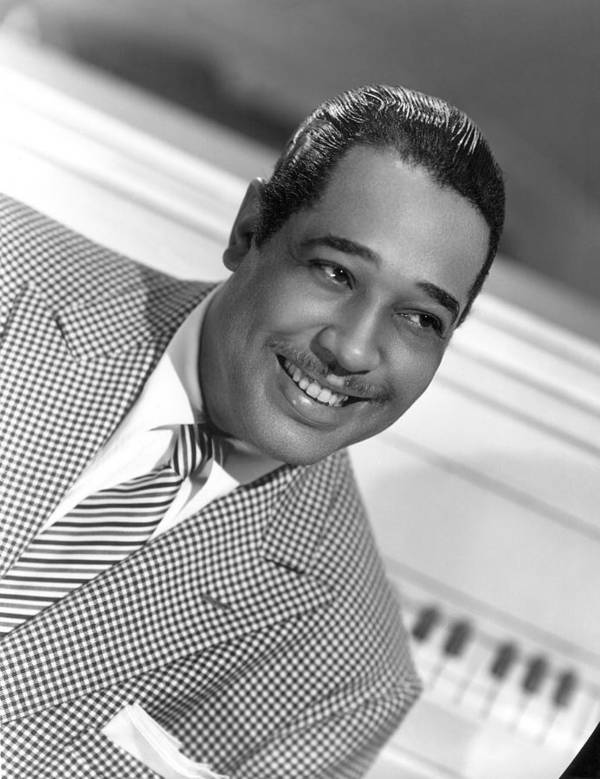 1950 Poster featuring the photograph Duke Ellington (1899-1974) by Granger