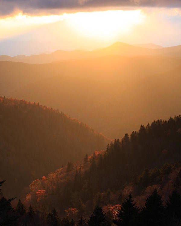 Blue Ridge Poster featuring the photograph Great Balsam Mountains by Mountains to the Sea Photo
