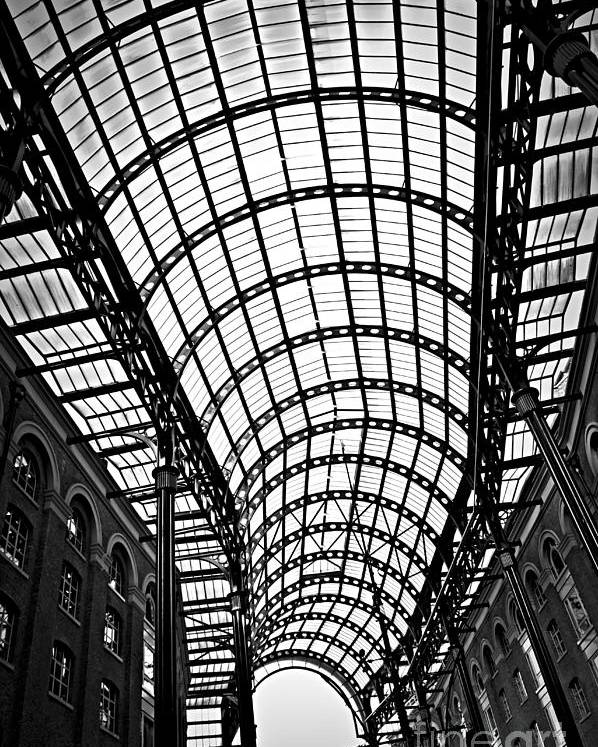 Hays Poster featuring the photograph Hay's Galleria Roof by Elena Elisseeva