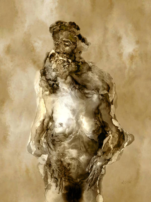 Nude Poster featuring the photograph Melt by Kurt Van Wagner