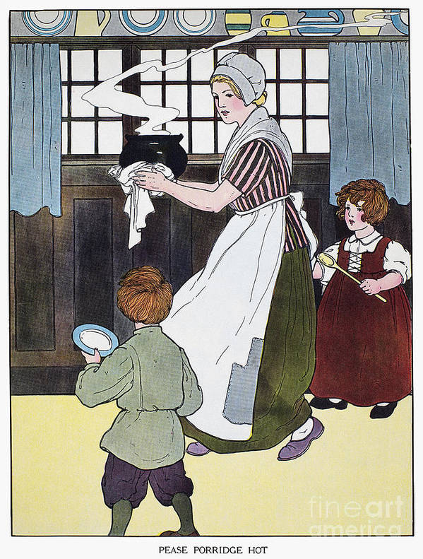 1916 Poster featuring the photograph Mother Goose, 1916 by Granger