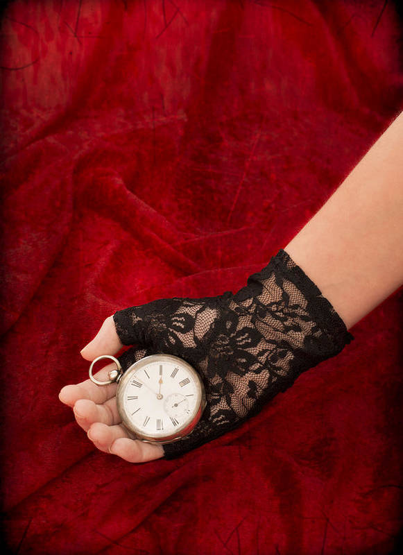 Girl Poster featuring the photograph Pocket Watch by Amanda Elwell
