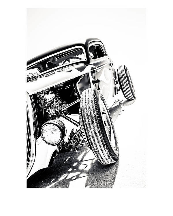 Antique Automobile Poster featuring the photograph Salt Metal by Holly Martin
