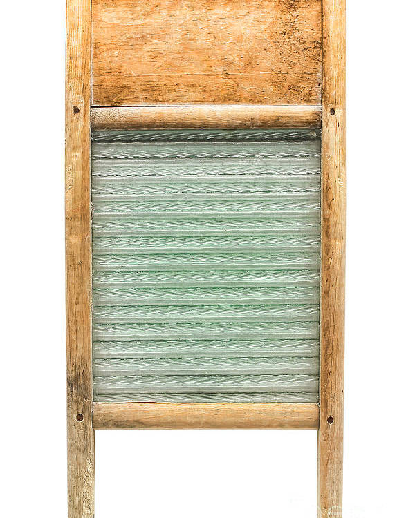 Washboard Poster featuring the photograph Washboard by Olivier Le Queinec