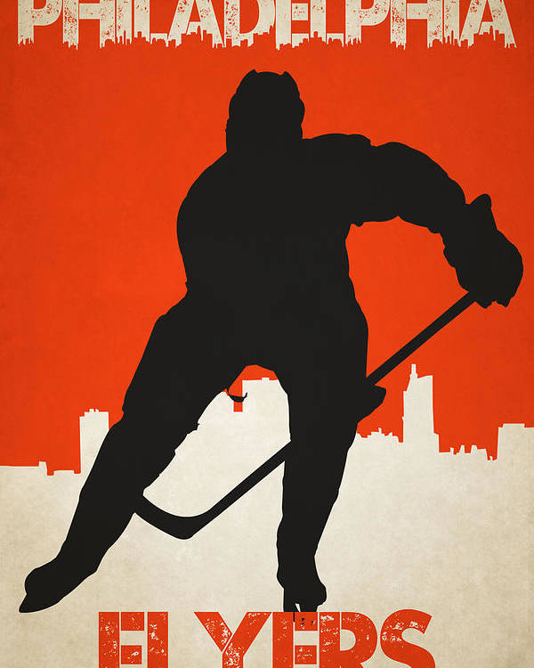 Flyers Poster featuring the photograph Philadelphia Flyers by Joe Hamilton