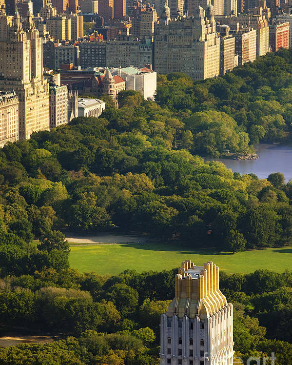 Central Poster featuring the photograph Central Park by Brian Jannsen