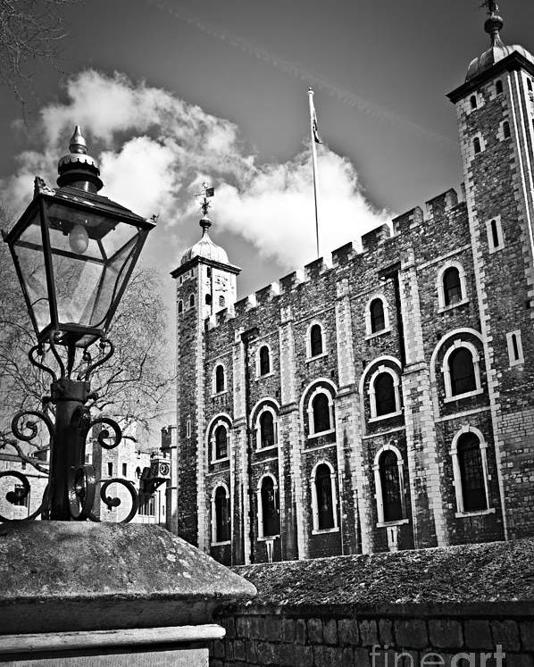 Tower Poster featuring the photograph Tower Of London by Elena Elisseeva