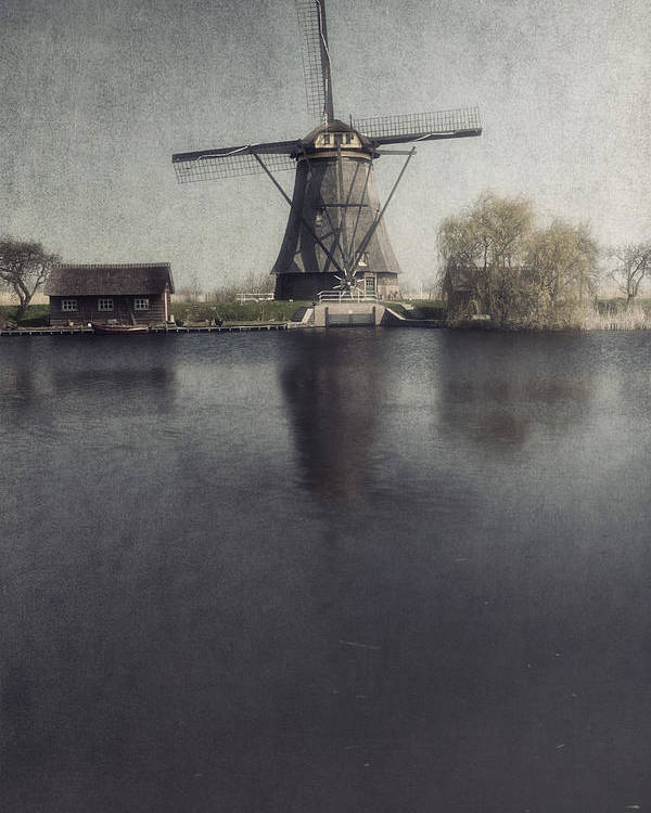 Mill Poster featuring the photograph Windmill by Joana Kruse