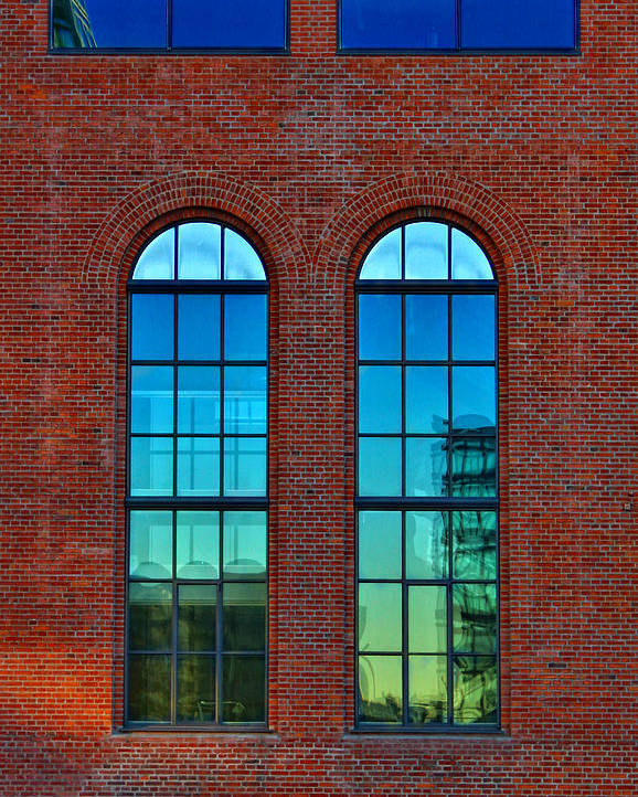 Window Poster featuring the photograph Windows by Kent Mathiesen