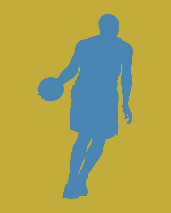Basketball Poster featuring the photograph Nba Shadow Player by Joe Hamilton