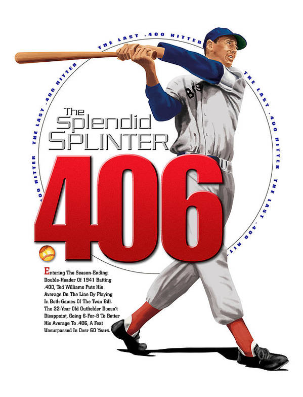 The Spledid Splinter Poster featuring the digital art 406 by Ron Regalado