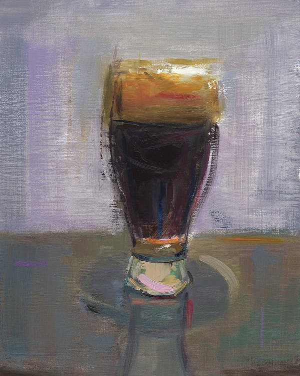 Beer Poster featuring the painting Rcnpaintings.com by Chris N Rohrbach