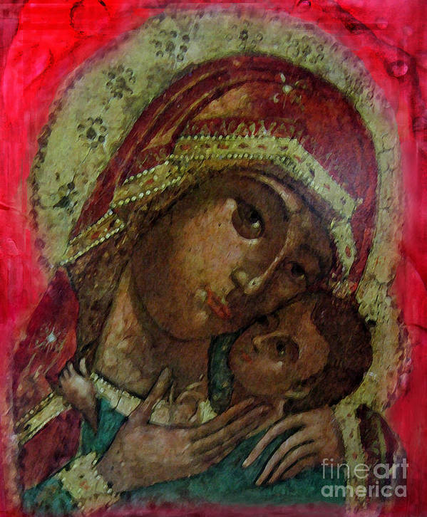Icon Poster featuring the photograph Mystical Rose by Patricia Januszkiewicz