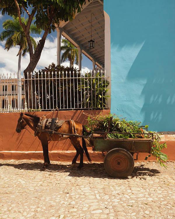 Caribbean Poster featuring the photograph Cuba, Sancti Spiritus Province by Walter Bibikow