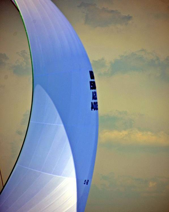 Port Huron Yacht Club Poster featuring the photograph Sailing North by Randy J Heath