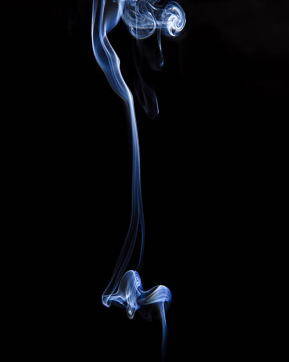 Smoke Poster featuring the photograph Colored Smoke by Rashad Penn