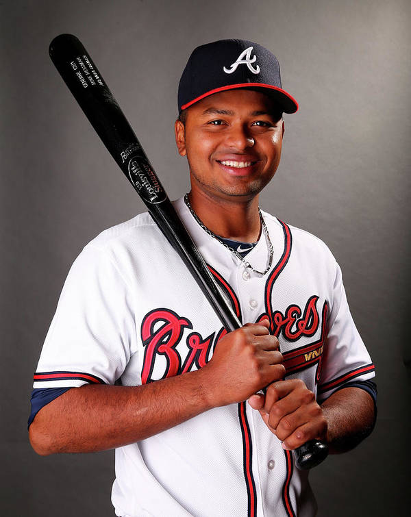 Media Day Poster featuring the photograph Atlanta Braves Photo Day by Elsa