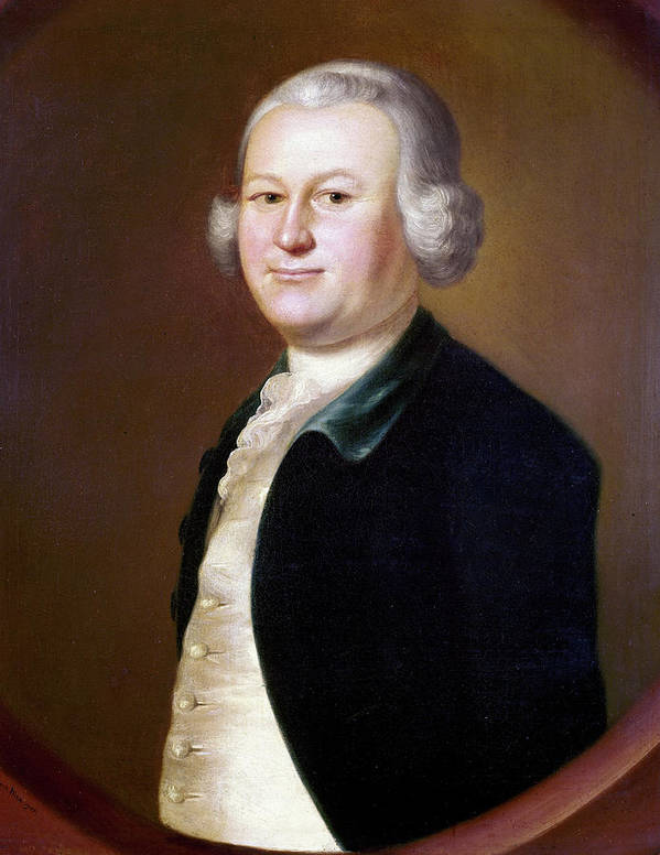 1755 Poster featuring the painting James Otis (1725-1783) by Granger