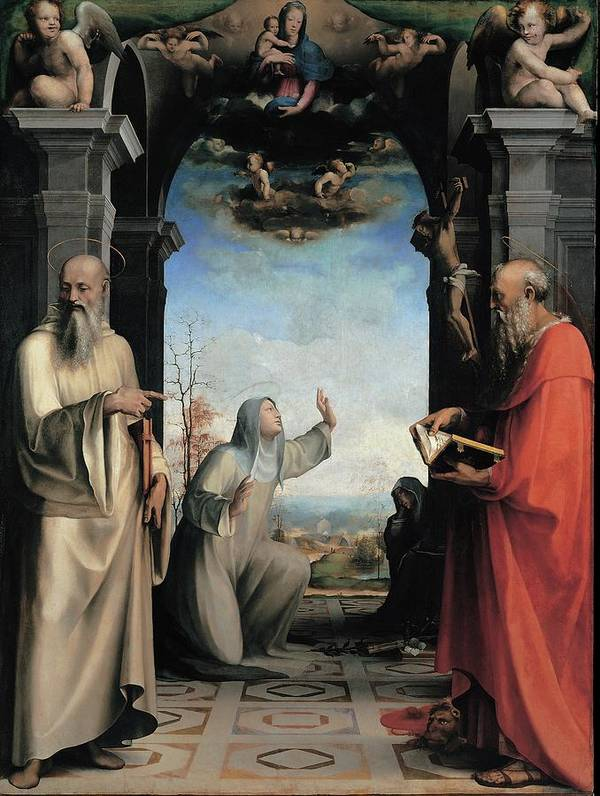Catherine Poster featuring the photograph Domenico Di Giacomo Di Pace Known by Everett