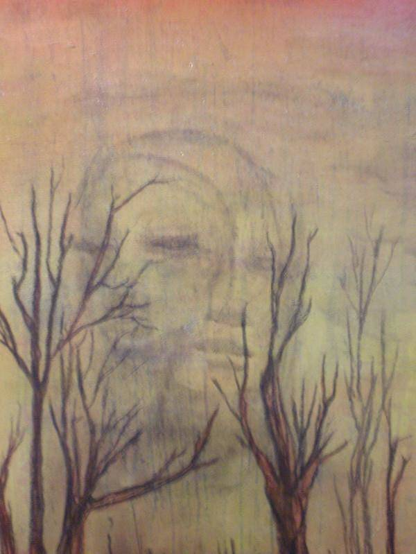 Landscape Poster featuring the mixed media A Greater Depth by Laura Walker