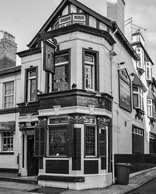 English Pub Poster featuring the photograph A Pub On Every Corner by Georgia Fowler