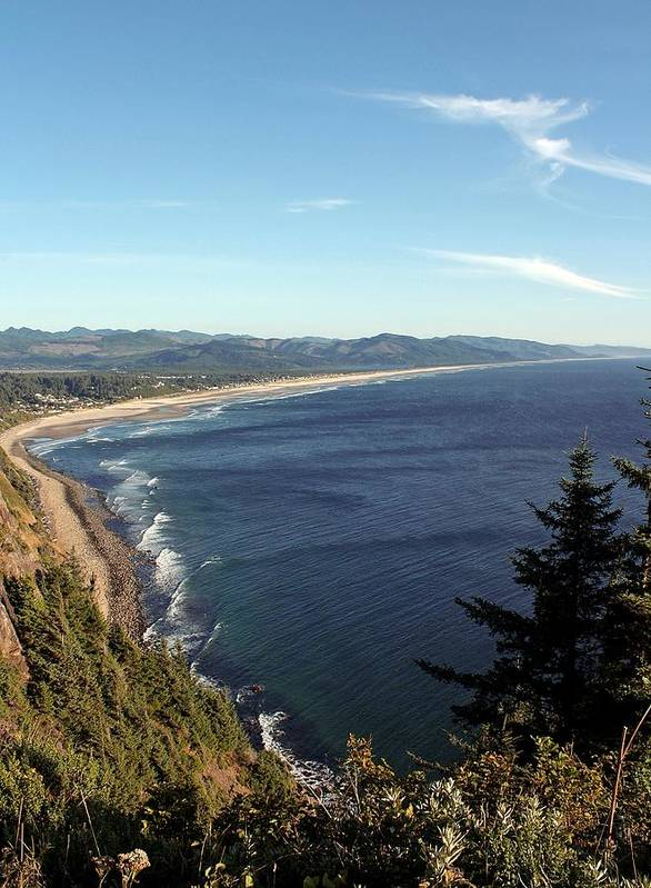 Oregon Coast Poster featuring the photograph A View Point by Chris Anderson