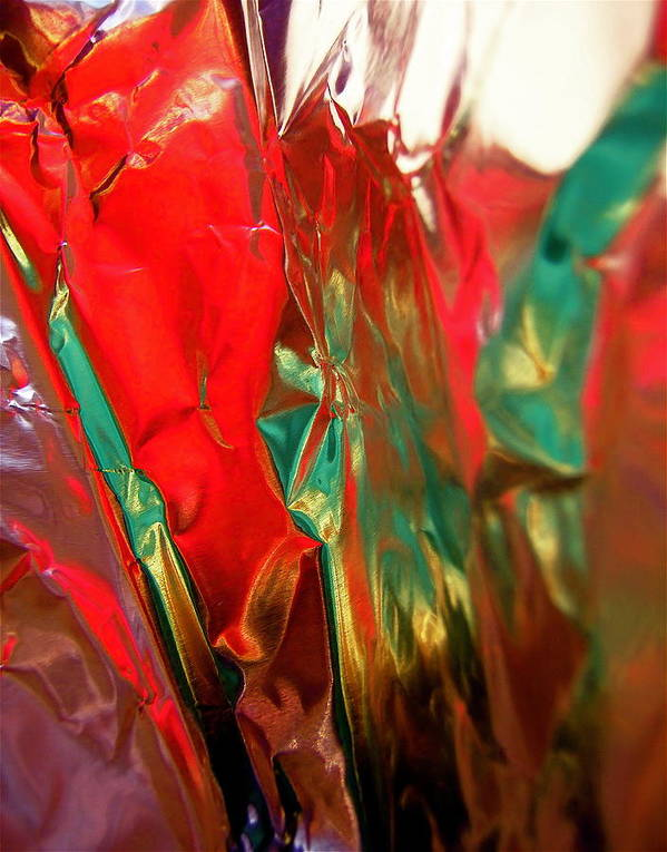 Red Poster featuring the photograph Abstract 3334 by Stephanie Moore