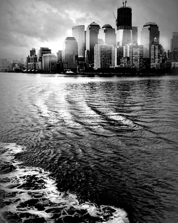 New York City Poster featuring the photograph Aft by Diana Angstadt