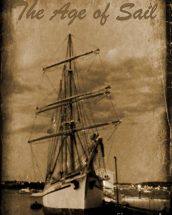 Halifax Harbour Images Poster featuring the photograph Age Of Sail Poster by John Malone Halifax photographer