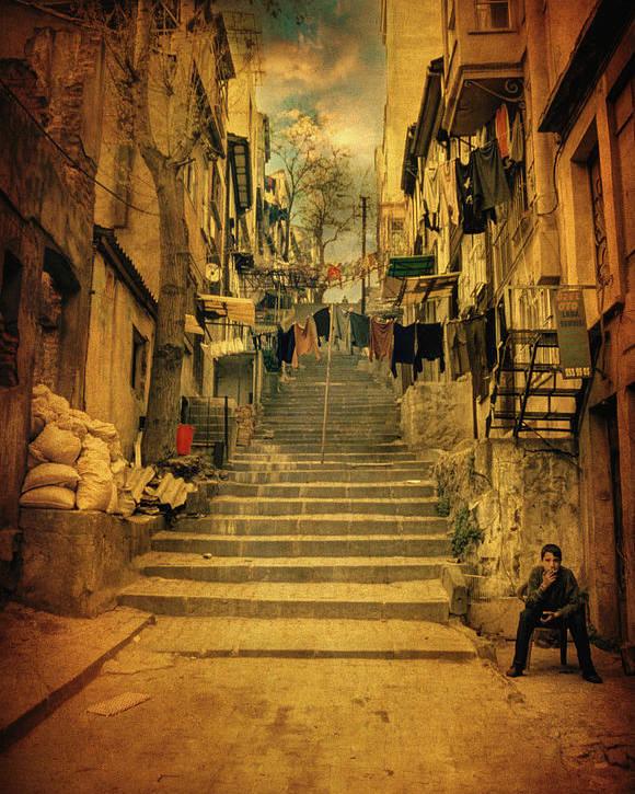 Street Poster featuring the photograph Alem-i Misal by Taylan Apukovska