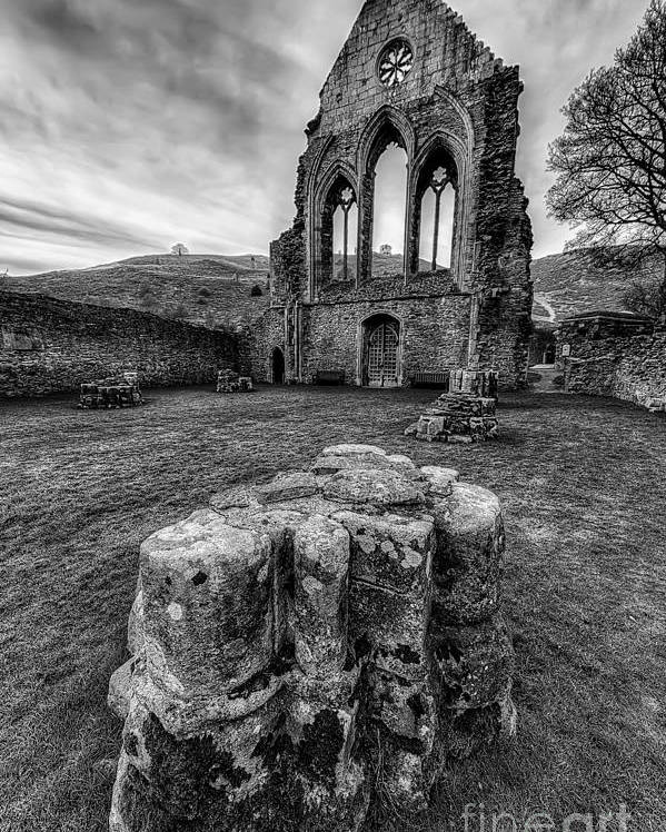 13th Century Poster featuring the photograph Ancient Abbey by Adrian Evans
