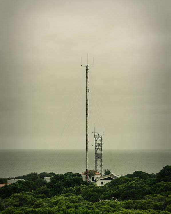 Antenna Poster featuring the photograph Antenna by Marco Oliveira