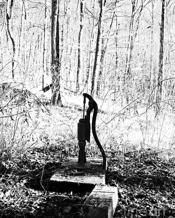 Appalachia Poster featuring the photograph Appalachian Well Pump by R David Johnson