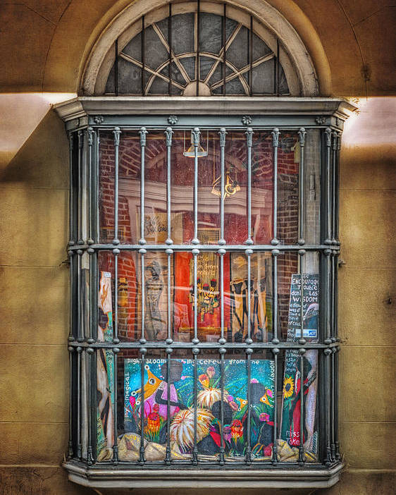 Window Poster featuring the photograph Art For Sale by Brenda Bryant