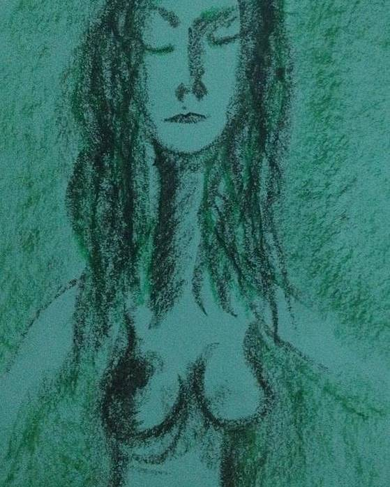 Woman Poster featuring the photograph Art Therapy 147 by Michele Monk