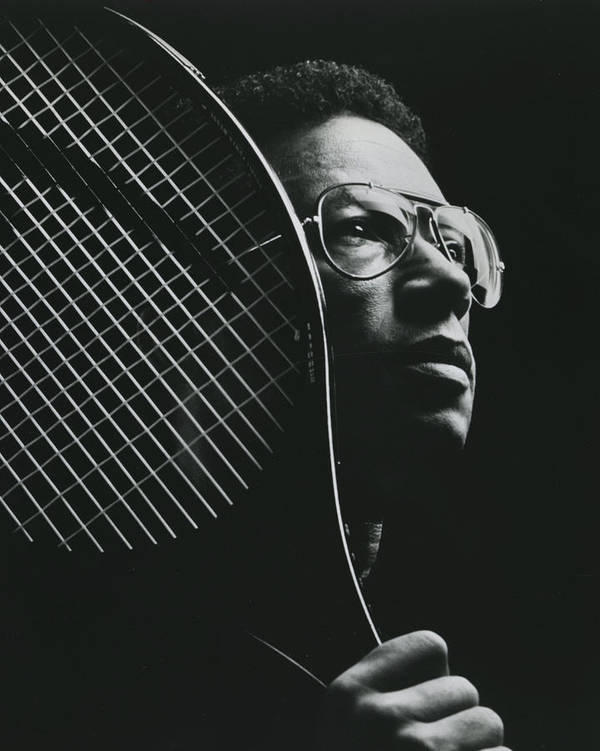 classic Poster featuring the photograph Arthur Ashe by Retro Images Archive