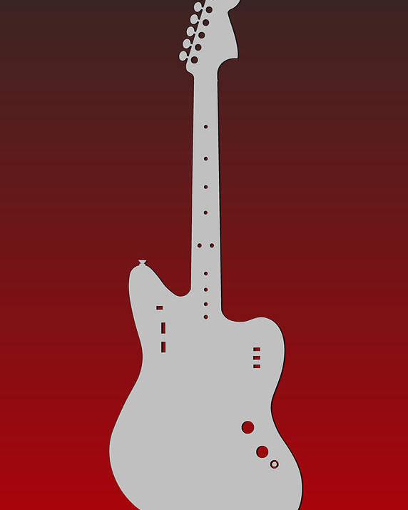 Falcons Poster featuring the photograph Atlanta Falcons Guitar by Joe Hamilton