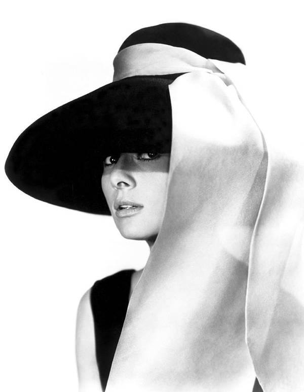 Audrey Poster featuring the photograph Audrey Hepburn by Daniel Hagerman