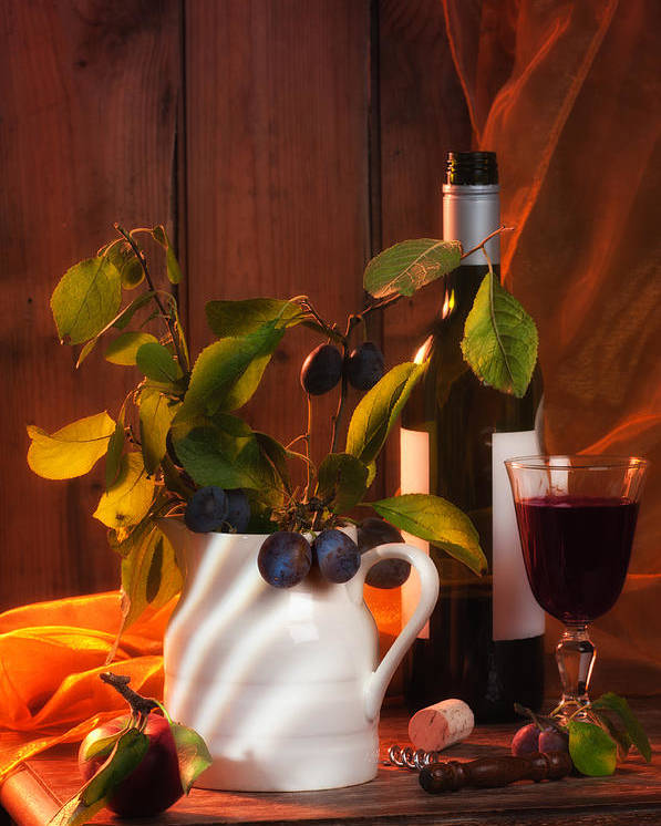 Autumn Poster featuring the photograph Autumn Still Life by Amanda Elwell