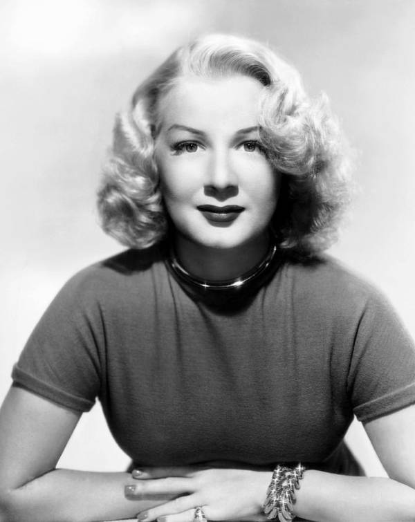 1940s Hairstyles Poster featuring the photograph Betty Hutton, 1947 by Everett
