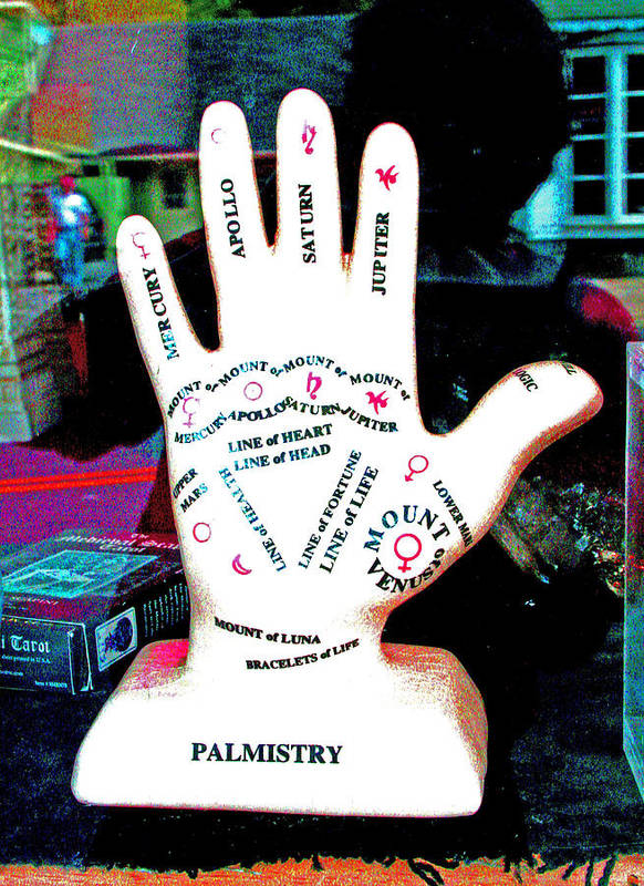 Palmistry Poster featuring the photograph Bracelet Of Life by Joseph Coulombe