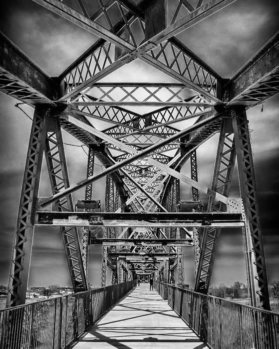 Bridge Poster featuring the photograph Bridges by Randy Davidson