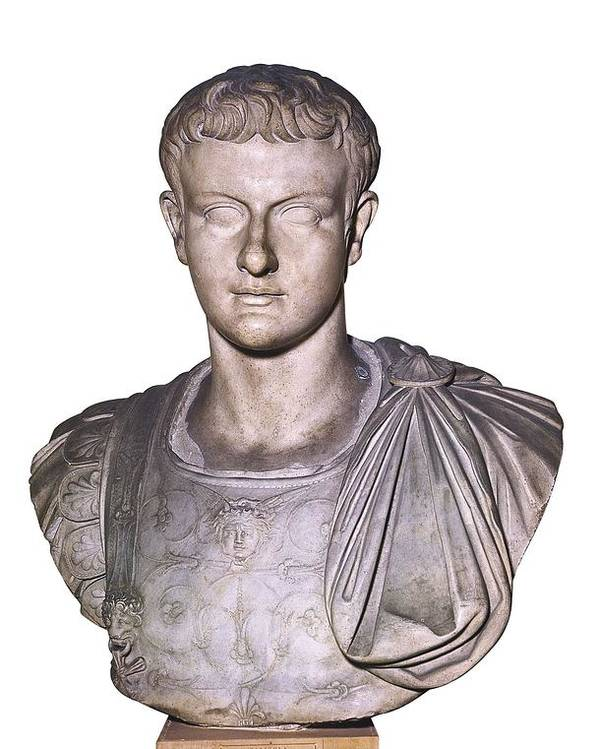 Vertical Poster featuring the photograph Caligula, Gaius Caesar Germanicus by Everett