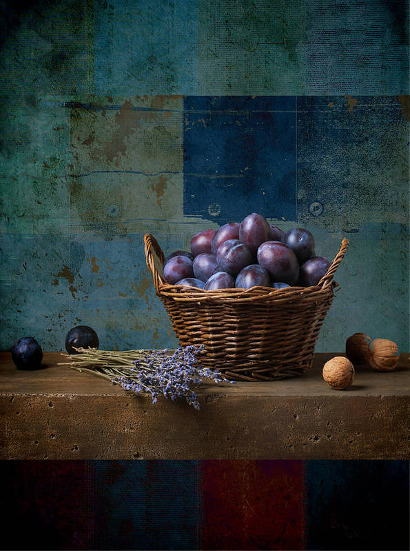 still Life Poster featuring the photograph Campagnard - Rustic - S01obv by Variance Collections