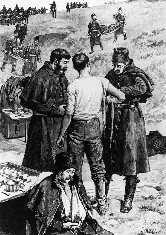 1885 Poster featuring the photograph Canada: Riel Rebellion, 1885 by Granger