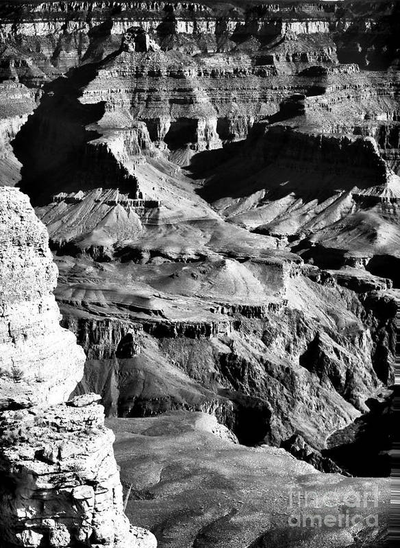Canyon Mysteries Poster featuring the photograph Canyon Mysteries by John Rizzuto